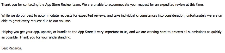 iOS提交AppStore后申请加急审核 第6张