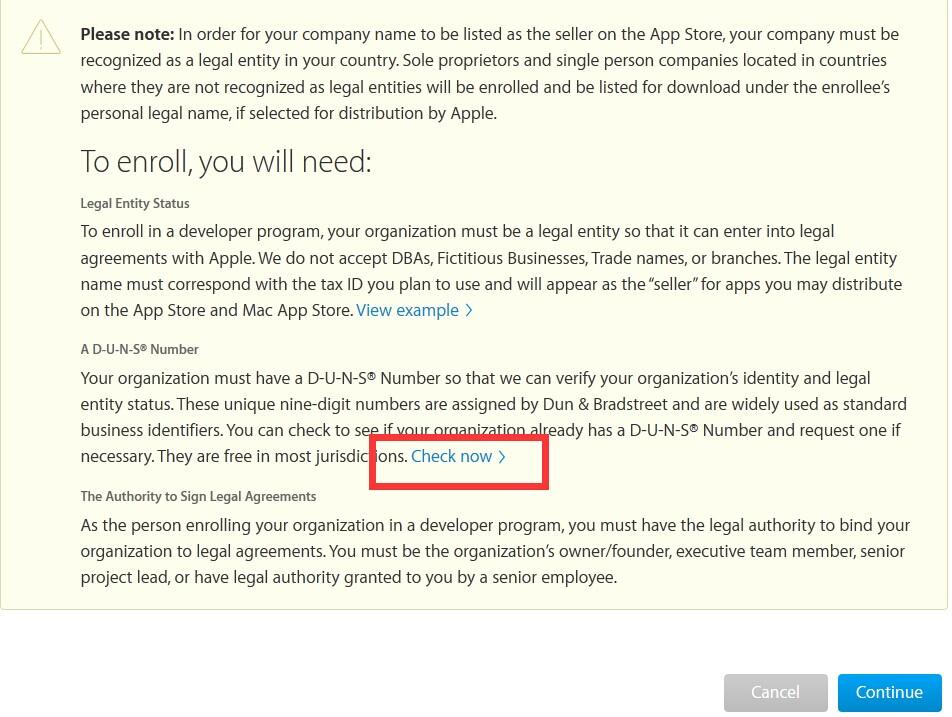 苹果开发者账号申请流程 第12张