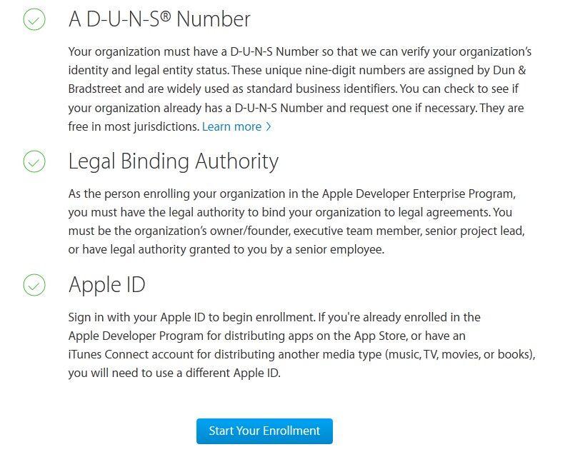 苹果开发者账号申请流程 第4张