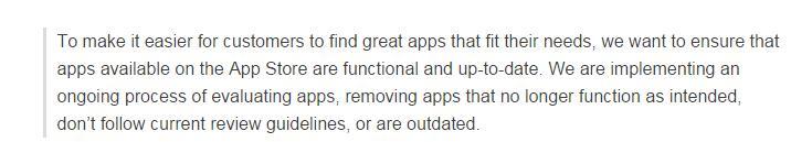 标题限制50字符、清理废旧应用,苹果大力整顿App Store了! 第3张