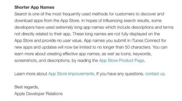 标题限制50字符、清理废旧应用,苹果大力整顿App Store了! 第2张